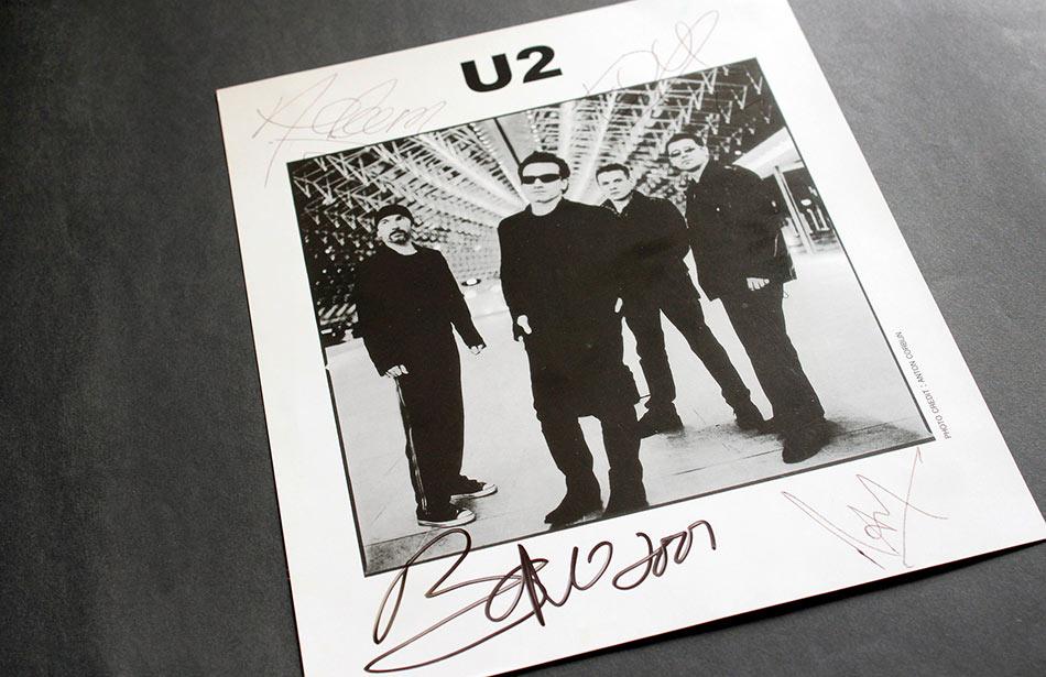 U2 Memorabilia Wanted