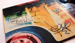 U2 Signed Memorabilia