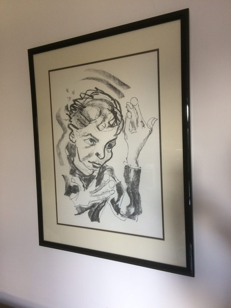 David Bowie Signed Heroes Lithograph