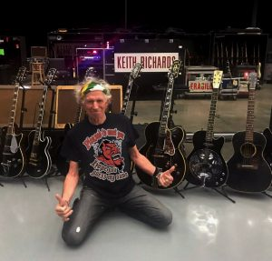 Keith Richards Guitar Valuation