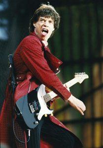 Mick Jagger Guitar Valuation