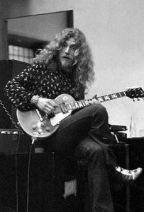 Robert Plant Guitar Valuation