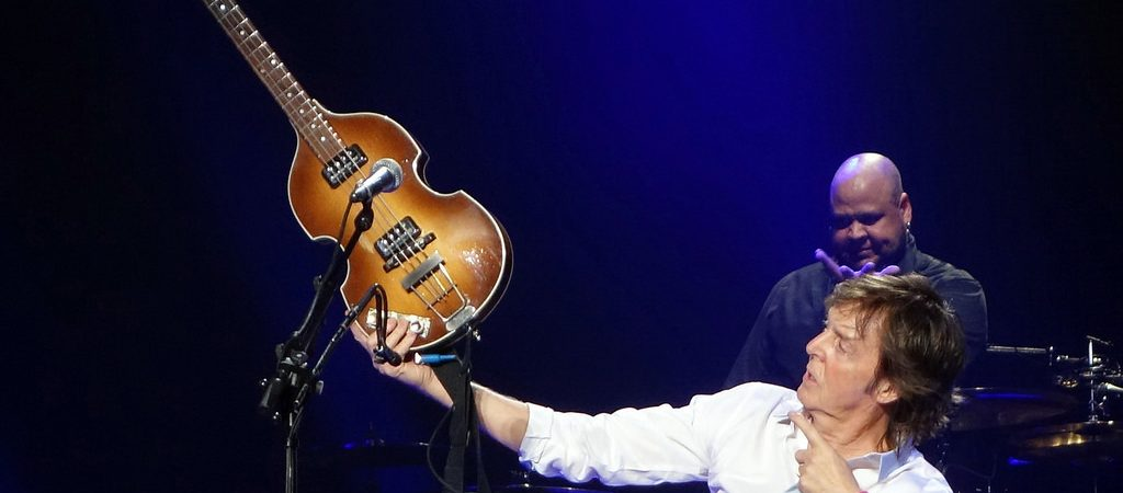 Paul McCartney owned and played guitar