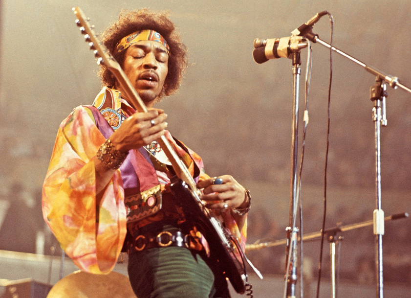 Jimi Hendrix Guitar Valuation